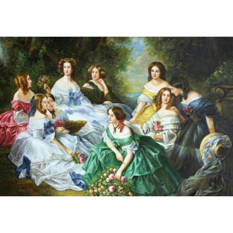 The Empress Eugénie Surrounded by her Ladies