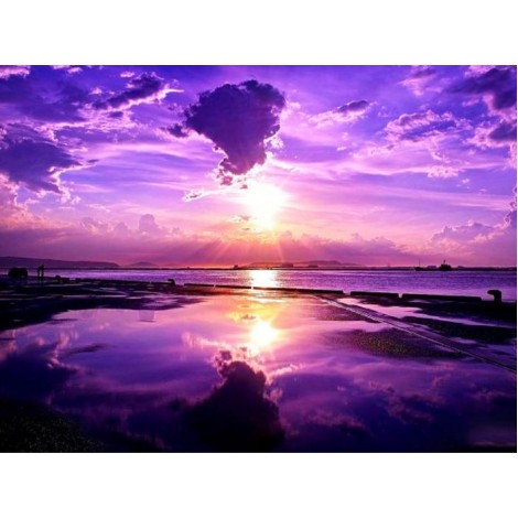 Sunset View DIY Diamond Painting