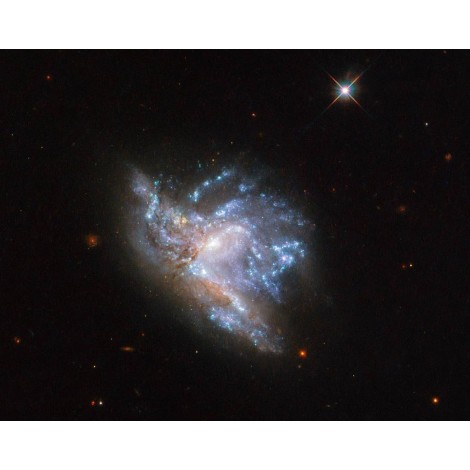 Dazzling Colliding Galaxies