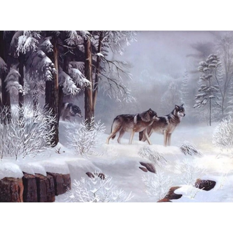 Snow Wolves Coming O...