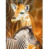 Baby Giraffe & Zebra Diamond Painting