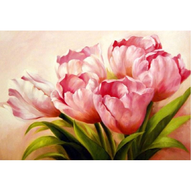 Bunch of Pink Tulips...
