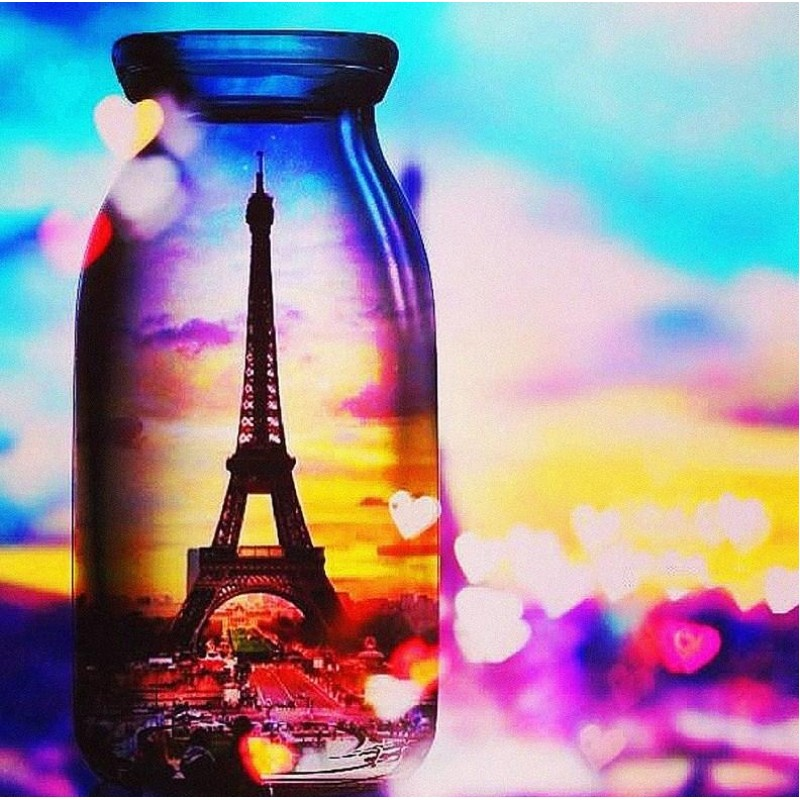 Paris View in Glass ...