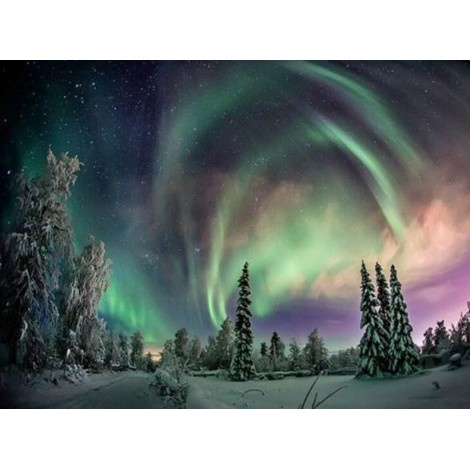 Northern Lights - Paint by Diamonds