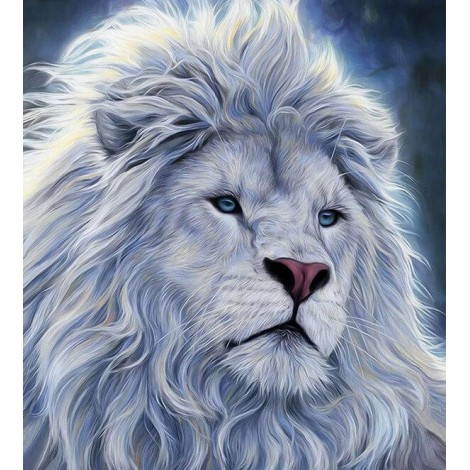 Mighty White Lion