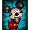 Mickey Mouse Stained Glass Diamond Painting