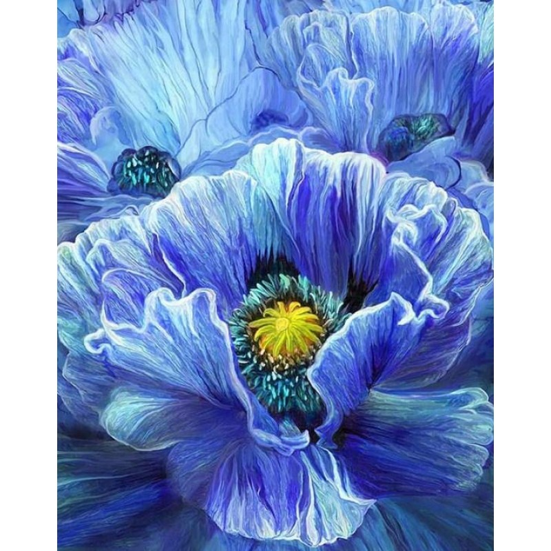 Blue Poppy by Carol ...