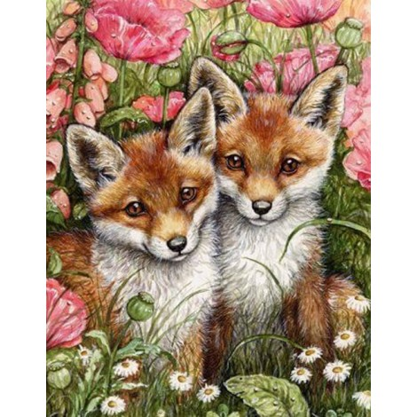 Foxes & Flowers
