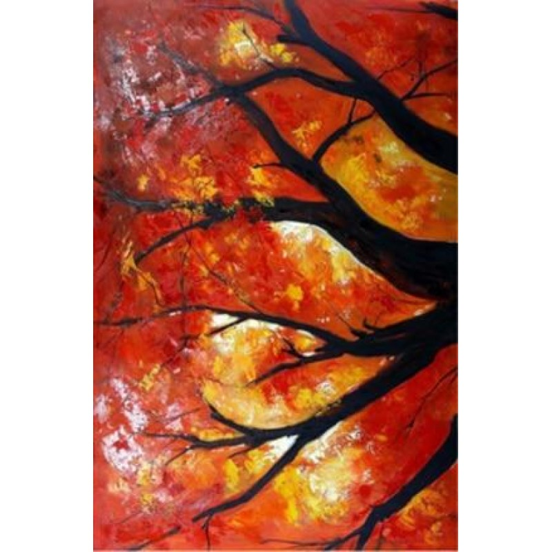 Colorful Trees DIY D...