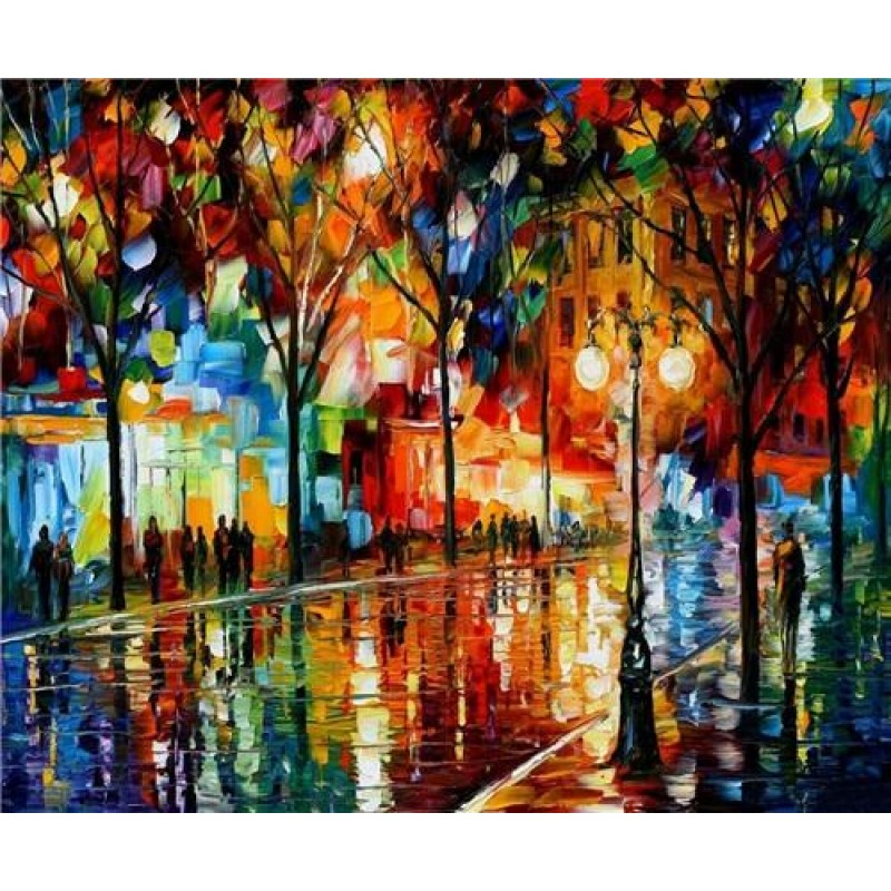 Colorful Street View...