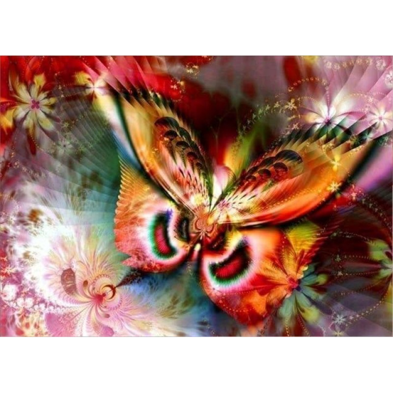 Colorful Butterfly D...
