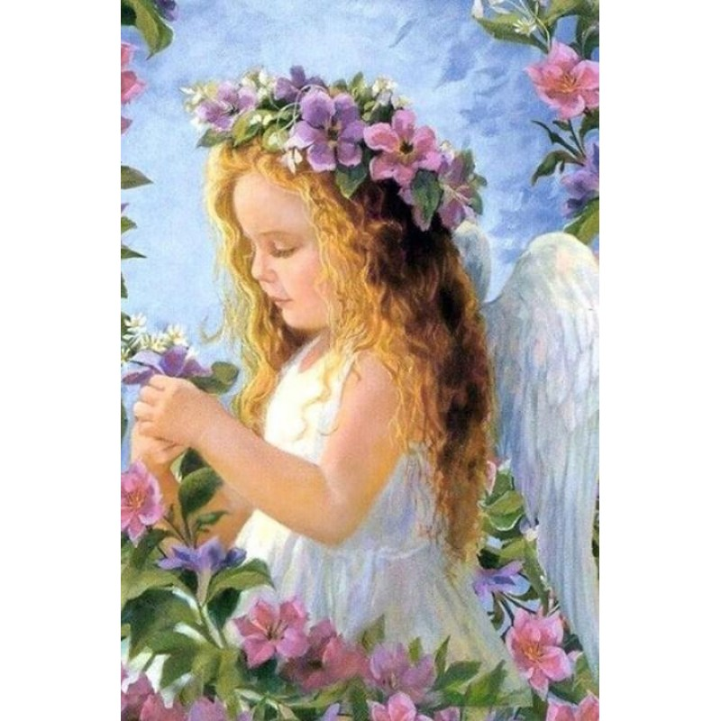 Angel Girl with Flow...